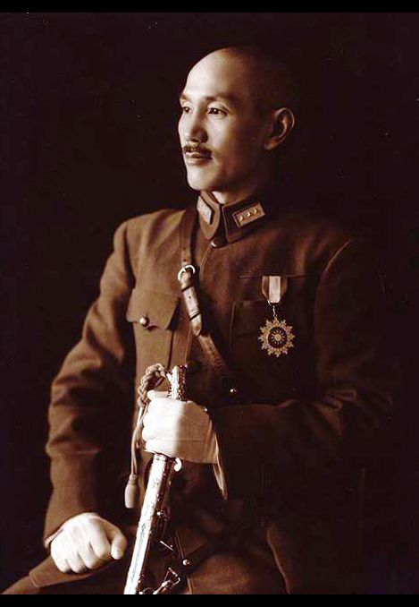 chiang_kai-shek_in_full_uniform allied commander in chief china campaign 1942 1945