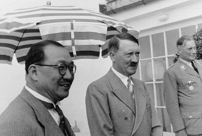 h h kung_and_adolf hitler berlin