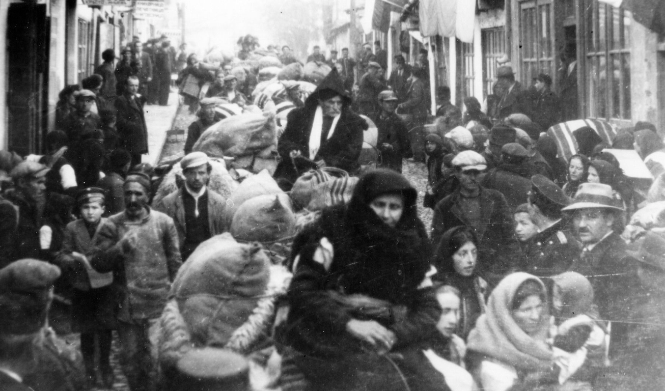 Ohrid, Bulgarian occupation zone refugees from Albania