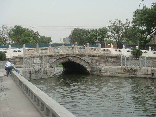 the oldest bridge in Beijing