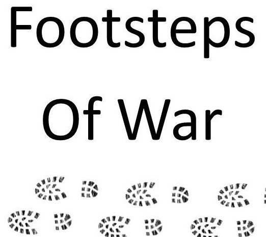 In the footsteps of war