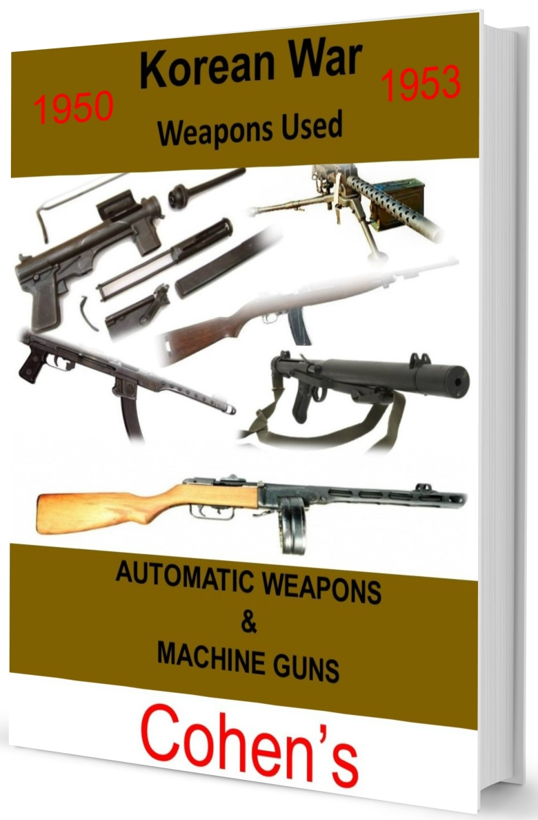 Korean War auto weapons book