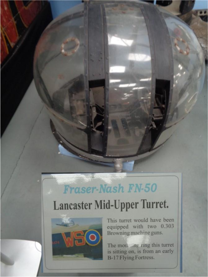 Lancaster Mid Turret